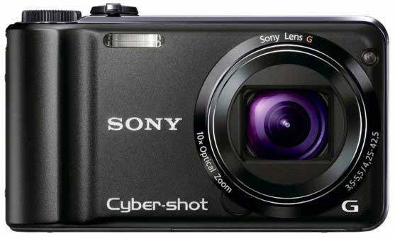 Las nuevas Sony Cyber-Shot llevan GPS, brújula, video 1080i y usan tarjetas SD