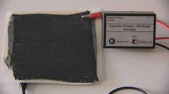 Investigadores consiguen un material que es una batería