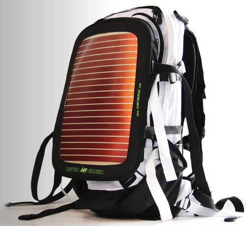 Mochila Solar Neon Green Soular Powers