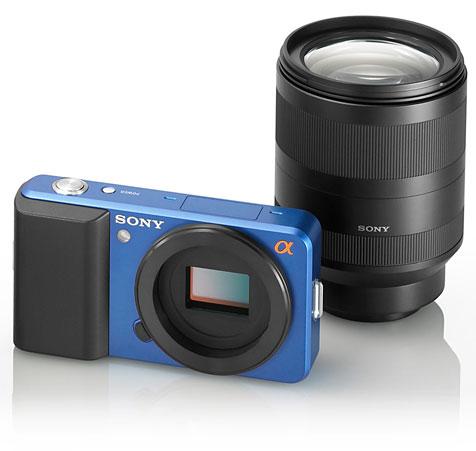 Sony muestra un concepto de cámaras con objetivos intercambiables sin espejo