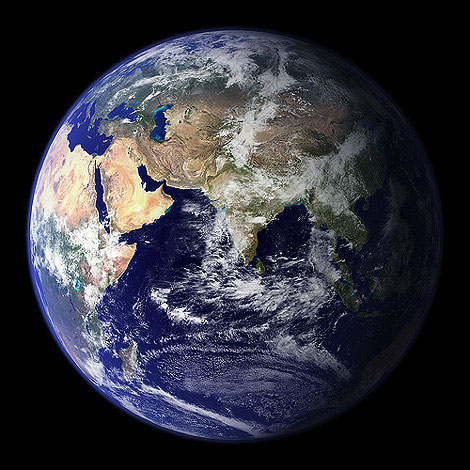 Imagen de la Tierra en alta resolución
