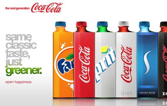 Coca-cola cambiará su embase