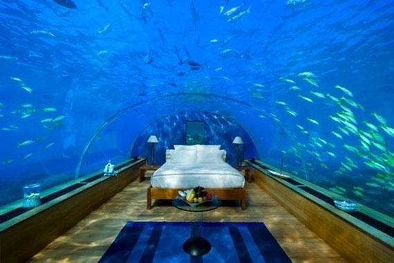 una casa bajo el mar en