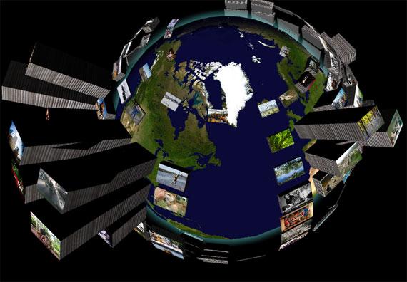 El Mundo en imágenes y 3D