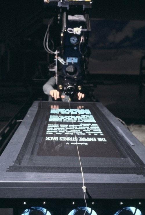 Cómo crearon el famoso cartel deslizante de Star Wars