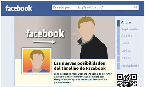 Facebook Timeline, ¿en qué consiste exactamente? [infografia]