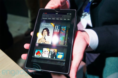 Amazon presenta nuevos Kindle y su tableta Fire
