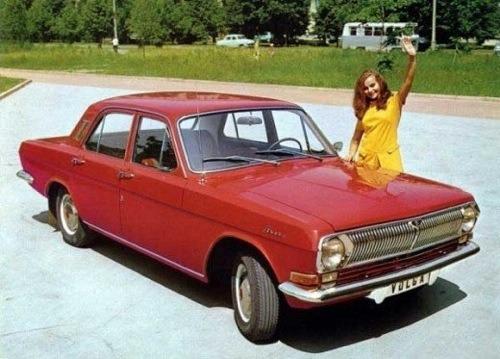 Coches soviéticos de los años 60 y 70