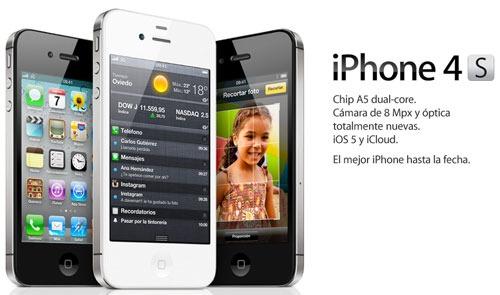 Apple anuncia el nuevo iPhone 4S