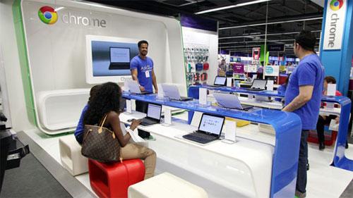 Google empieza a abrir también tiendas físicas