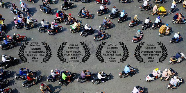 Timelapse HDR del tráfico de Vietnam