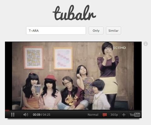 Tubalr, el YouTube minimalista sin aditivos ni colorantes