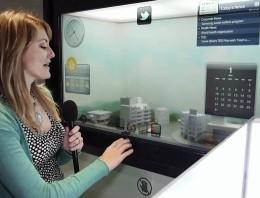 Ventana de Samsung con widgets táctiles, ha llegado el futuro