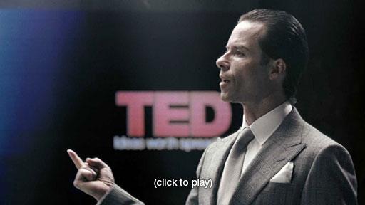 Histórico discurso de Peter Weyland en el TED 2023