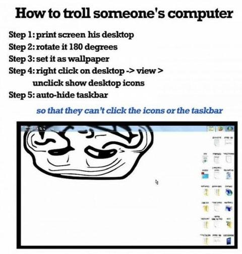 Cómo trollear el PC de alguien fácilmente