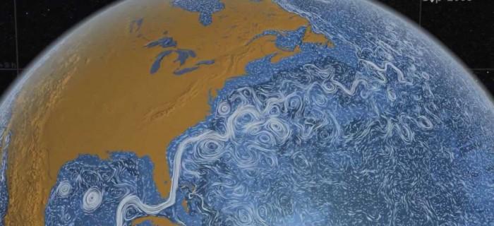 Las corrientes marinas en todo el planeta