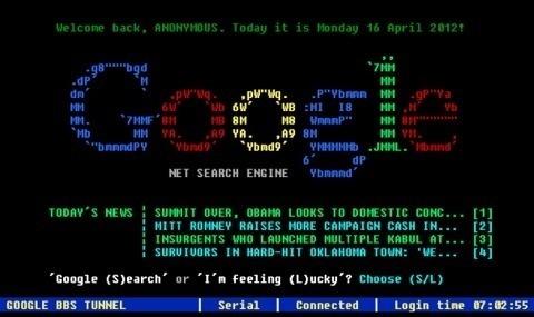 Google en los años 80