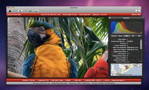 Sofortbild, conecta tu Nikon a un Mac para controlarla remotamente