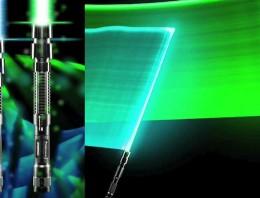 Los sables láser de Star Wars casi son reales