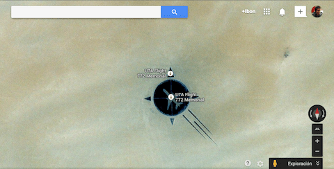 Un memorial desde Google Maps