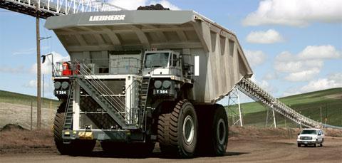 Así es el Liebherr T-284, un camión del tamaño de una casa [WTF]