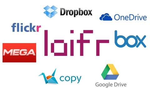 Logos de servicios en la nube