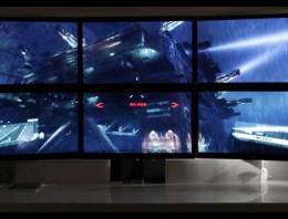 Crysis 3 en seis monitores y una brutal resolución de 4800 x 1800… ¡en un Mac!