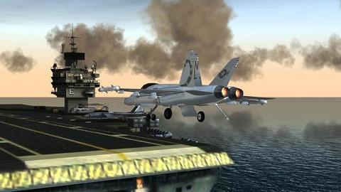 6. F18 Pilot Simulator