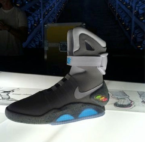 Las Nike Air Mag de Regreso al Futuro llegarán en el 2015, el mismo año que en la película