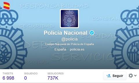 Los 8 motivos por los que la Policía española es mejor que el FBI… en Twitter