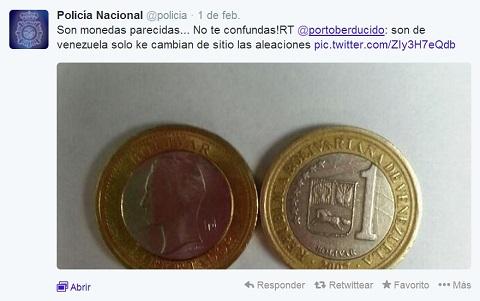 policia 2 Tweet Monedas 2