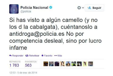 policia 7 participativo camello