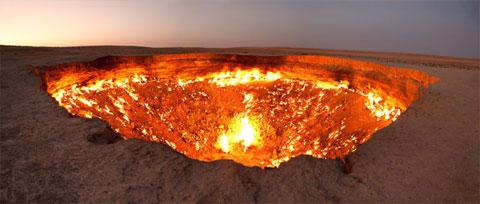Turkmenistán y su puerta al Infierno