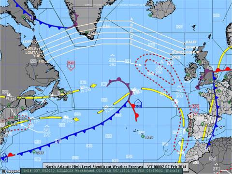 Mapa de Turbulencias