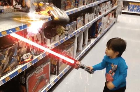 niño espada laser