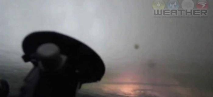 Así es un tornado visto desde dentro [video]