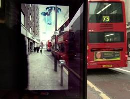 Sorprendente anuncio de Pepsi en una parada de autobús