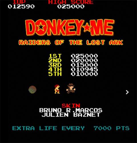 Donkey-Me, juega gratis al Donkey Kong en tu PC o Mac