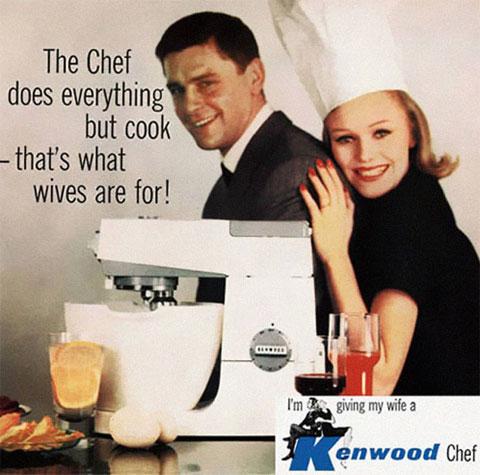 Para eso son las mujeres, para cocinar [Anuncios WTF que sería imposible publicar hoy]