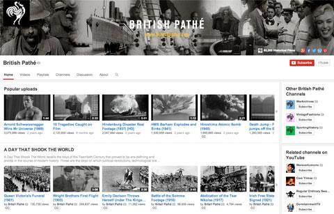 British Pathé sube todos sus noticieros históricos a YouTube