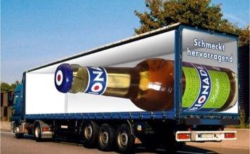 Camión publicitario