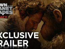 Trailer de El amanecer del Planeta de los Simios