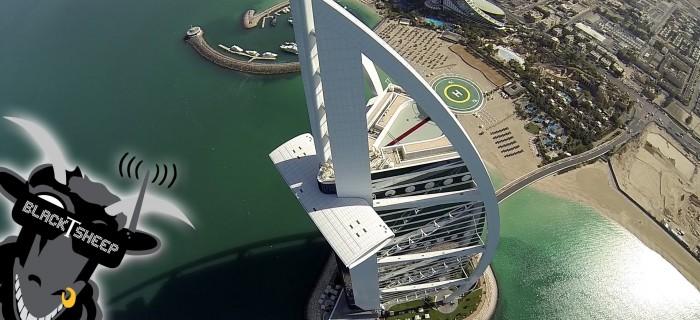 Espectacular vídeo aéreo de Dubai con una TBS Discovery Pro