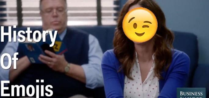 La increíble historia del emoji contada con… emojis