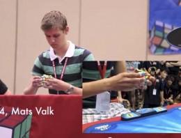 Los jugadores del cubo de Rubik más rápidos del mundo