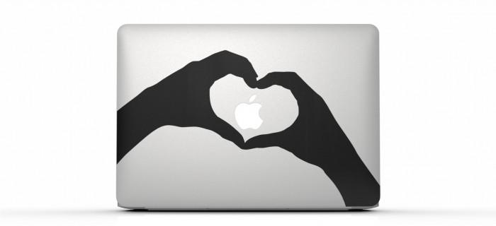 Nuevo anuncio del MacBook Air de Apple: Stickers