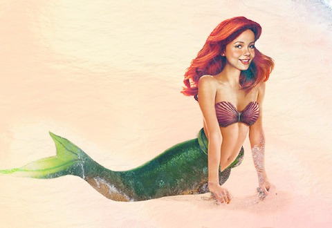 Ariel La sirenita vida real