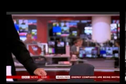 El telediario de la BBC que empezó sin su presentador