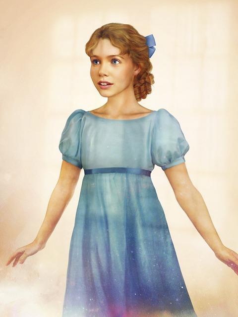 Wendy Peter Pan vida real