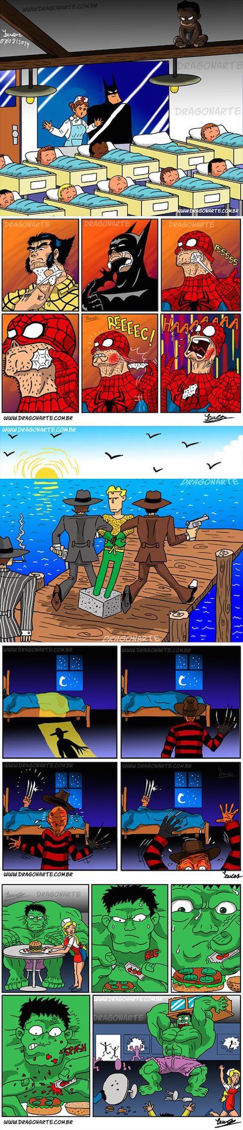 Las mejores bromas de superhéroes en la red